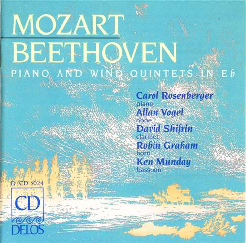 Mozart/Beethoven: Piano and Wind Quintets