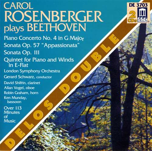Rosenberger Plays Beethoven – Delos Double