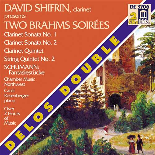 Two Brahms Soirees – Delos Double